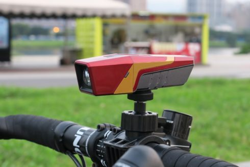 cdfaba1f3c98db Marvel's Iron Man multipurpose bicycle accessory — a four-in-one system to  enrich your mobile lifestyle